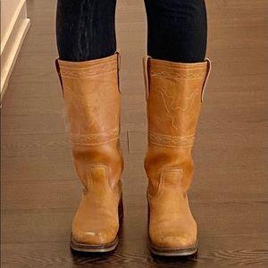 VINTAGE 70's Western Style Boho Boots RARE!